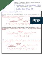 ProblemSheet_Week20Solutions