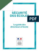 Guide Securite Ecoles Directeurs