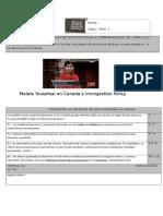 Grille Evaluation Et Script Malala