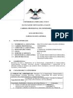 Guia Farmacología General Enfermeria 2016-I