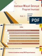 Tugas IX SIK Kelompok 1 PWS Imunisasi