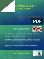 Conceptos Básicos de Salud y Enfermedad Mental