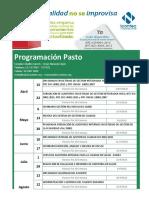 Programacion Pasto Icontec