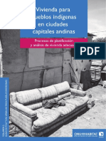 UN-Habitat (2014) - Vivienda Para Pueblos Indígenas en Ciudades Capitales Andinas (L)