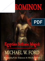 Necrominon Egyptian Sethanic Michael W Ford PDF