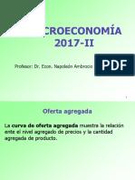 Oferta Agregada y Demanda Agregada 2017-2