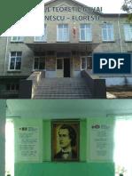 Liceul MIhai Eminescu Floresti