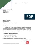 Modelo Carta Comercial Pedido U4