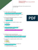 Tercer Parcial de Bioquimica