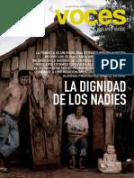 Pobreza Argentina Revista Voces.N.22.Baja