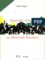 André Singer, Direita e Esquerda No Eleitorado Brasileiro