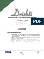 New Drishti # 103 --- 22nd July 2004