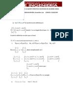 Solucionario de La Quinta Practica Calificada de Algebra Lineal