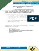Evidencia 7 Estudio de Caso Clasificacion Actividad Economica Empresarial