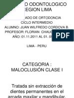 Colegio Odontologico Region Lima-2012