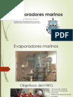 Evaporadores Marinos