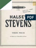 STEVENS. 3 Piezas (Fg y Pn)