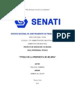 Modelo Tesis Senati