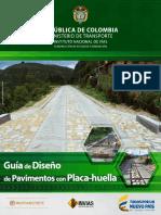 Guía de Diseno de Pavimentos con Placa-huella