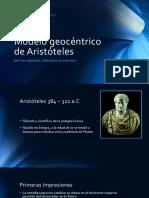 Modelo Geocéntrico de Aristóteles