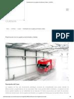 Planificación de La Logística de Entrada y Salida -