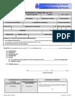 Formulario Renovacion Tip