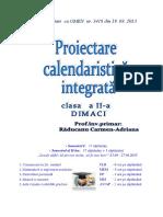Planificare Calendaristica Cls 2-1