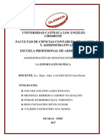 Exposicion Negocios Internacionales