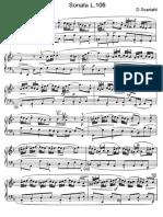 Scarlatti Sonate Per Pianoforte (106)