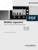 Weinmann CapnoVol - Service Manual
