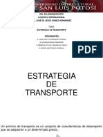 Estrategia de Transporte Citla
