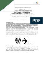126 - Tumores Cutáneos Cervicofaciales Carcinoma Epidermoide y Basocelular