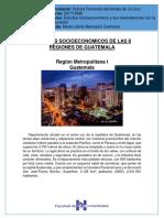 Estudios Socioeconomicos de Las 8 Regiones de Guatemala