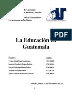 La Educacion en Guatemala (1)