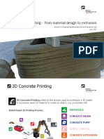 3D Concrete Printing - From Material Design to Extrusion (ACE Workshop%2c 2017)