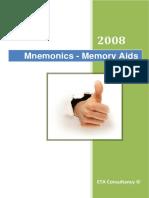 NEBOSH - IGC - Mnemonics