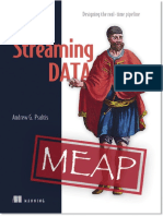 Streaming Data v2 MEAP