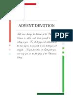 advent 2017 devotion book