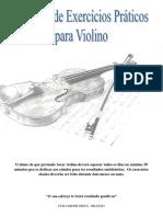 CCB - Apostila de Exercicios Praticos Para Violino