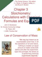 Stoichiometry Chapter 03au