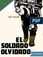 El Soldado Olvidado - Guy Sajer