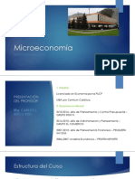UNI - Microeconomía - Sesión 1-2