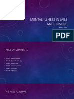 mental illness in jails and prison