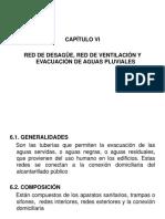 UAP Instalaciones Sanitarias CAPÍTULO VI