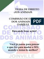 Cartilha Comissao Direito Dos Animais