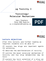 Drugs Toxicology Mechanism