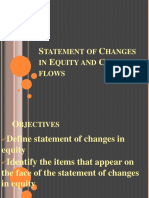 Statement of Changes in Equity and Cash Flows (1)