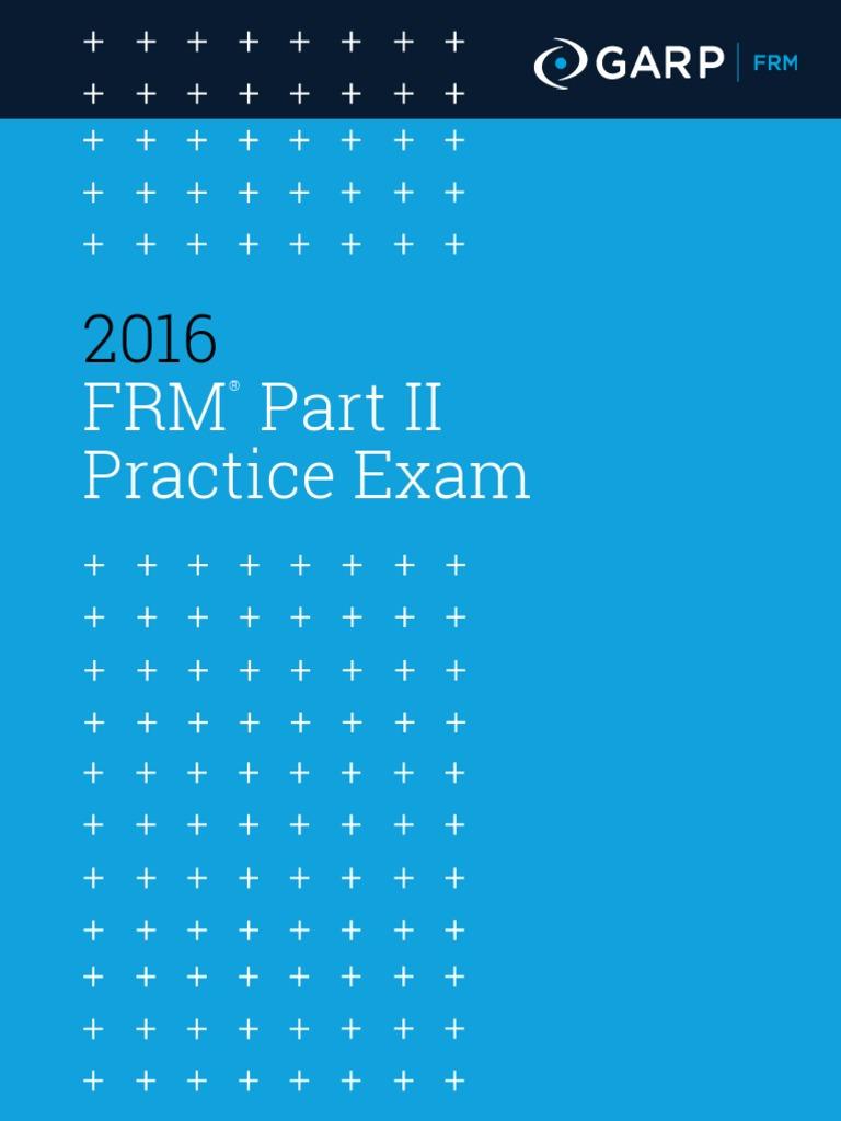 2012 Garp Frm Practice Exam Ebook