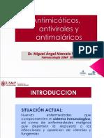 Antimicot. antivir. antimal.