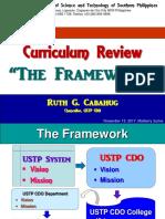 Framework Curriculum Review